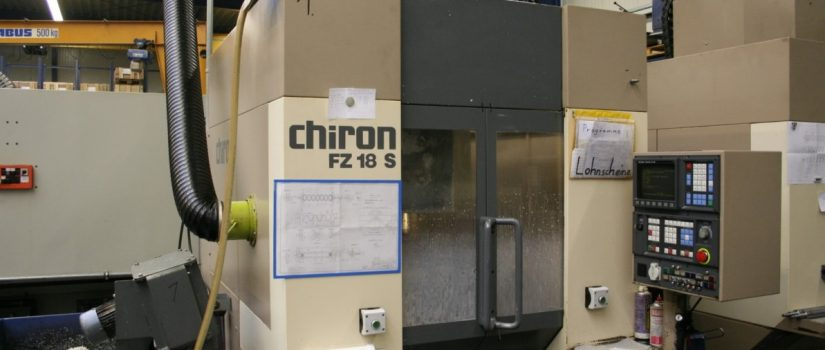 Chiron FZ18S Magnum Dik İşleme Merkezi