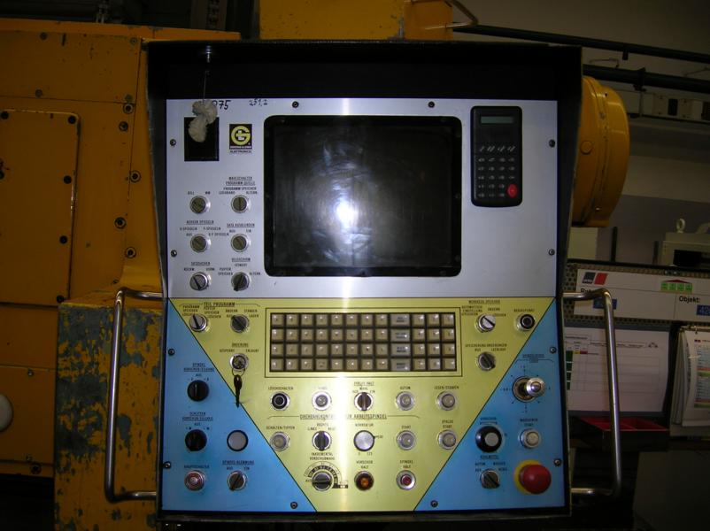 GIDDINGS & LEWIS tabla tipi işleme merkezi